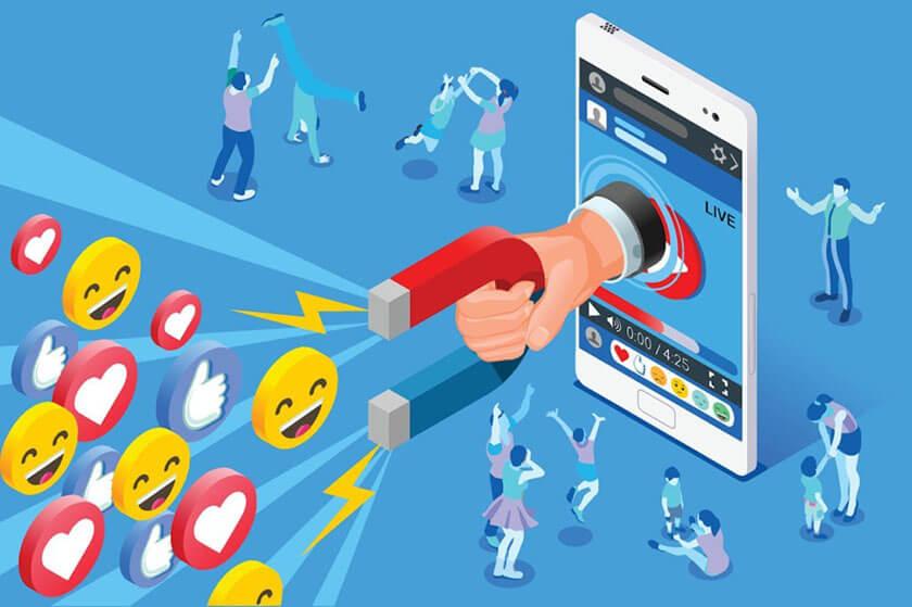 digital marketing xu hướng tương tác nội dung