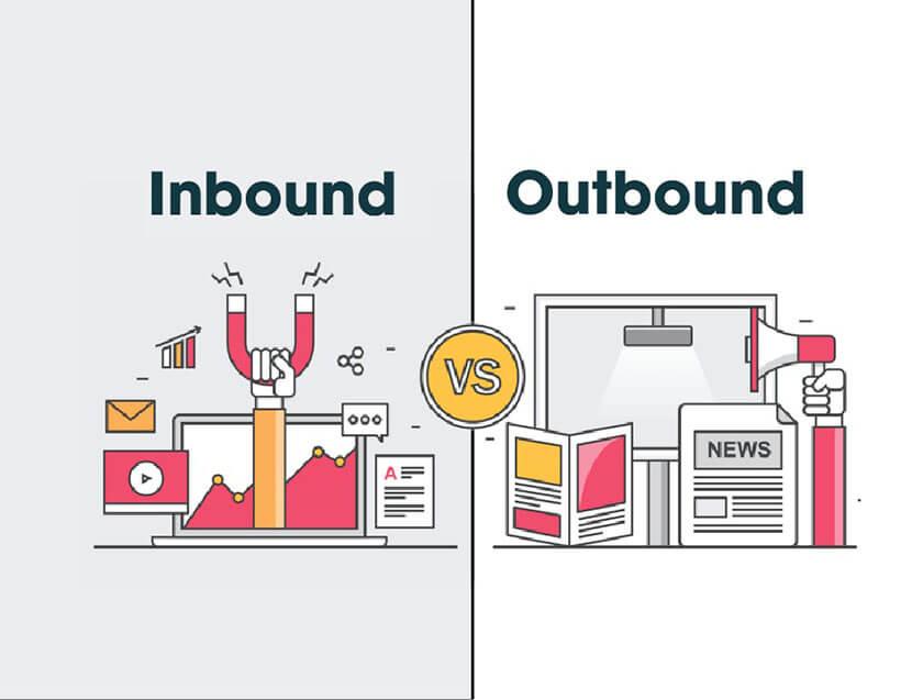 khác biệt inbound outbound marketing