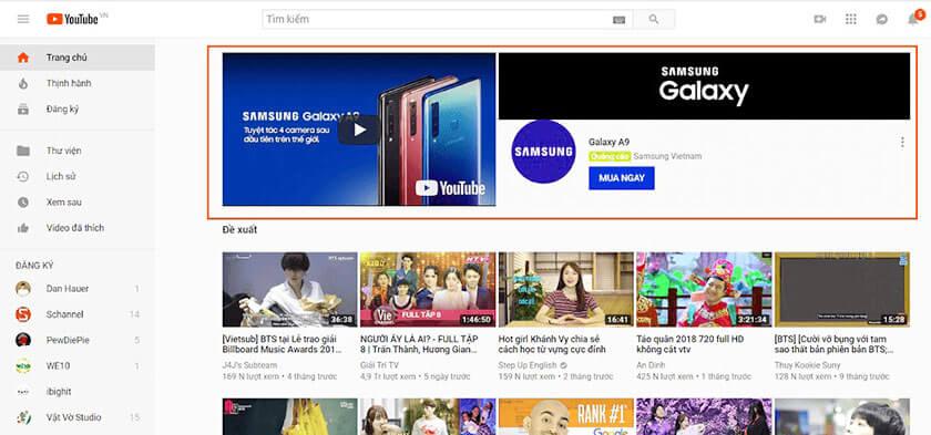 hình thức media ads marketing