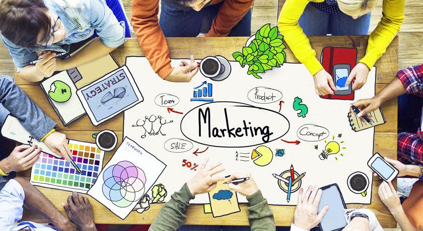 vị trí công việc ngành marketing