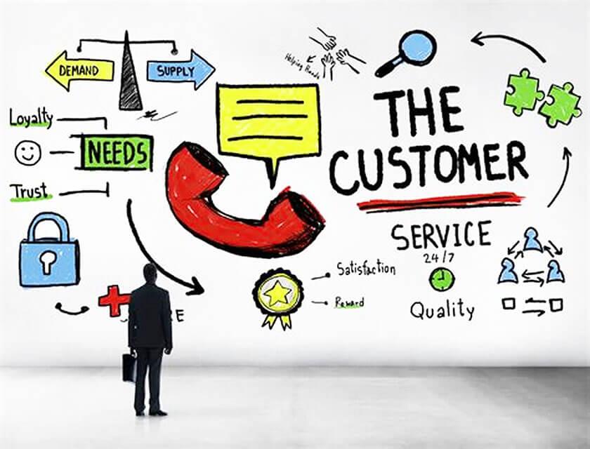 social media giúp chăm sóc khách hàng
