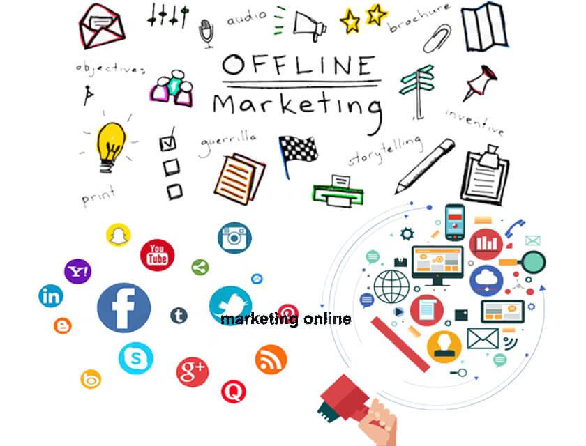 Phân biệt marketing online và marketing truyền thống chi tiết