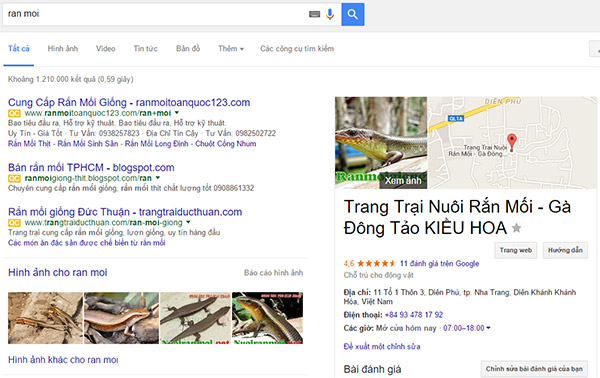 cach tao google business