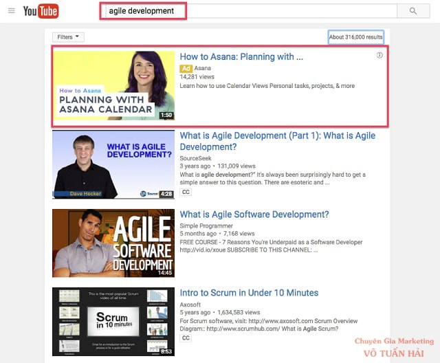 Quảng cáo Video Discovery Ads